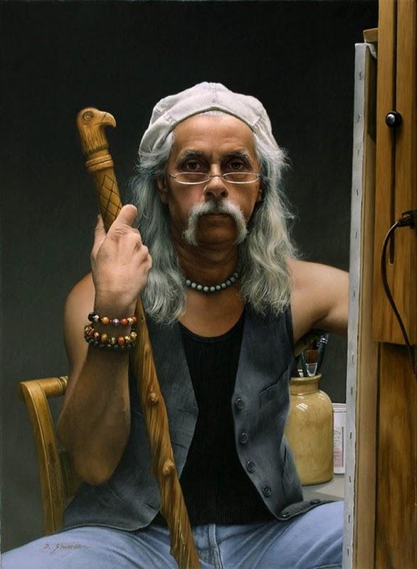 Duffy Sheridan - autoportret